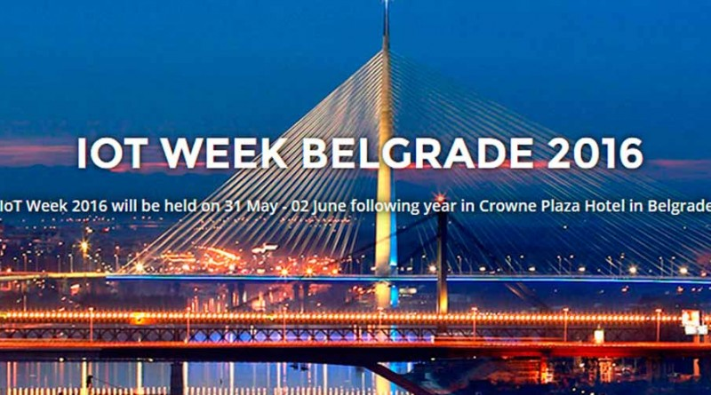 IoT Week Belgrado 2016