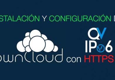 Instalación y configuración de ownCloud con HTTPS