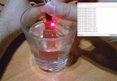 Sensor de nivel de agua (Vídeo)